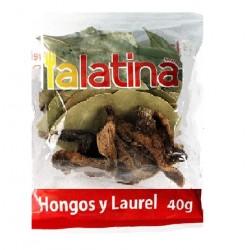 HONGOS Y LAUREL 40g.
