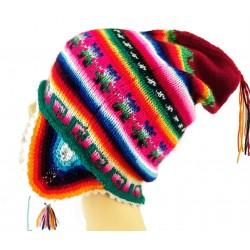 Bonnet péruvien adulte homme/femme