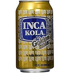 INCA KOLA GOLDEN 355 ml.