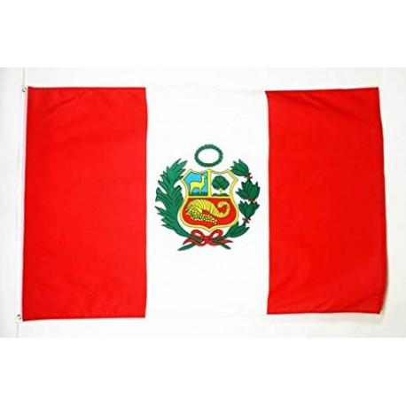 Drapeau du Pérou 109 x 67 cm.