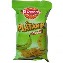 CHIPS PLATANITOS CON SAL 100 G.