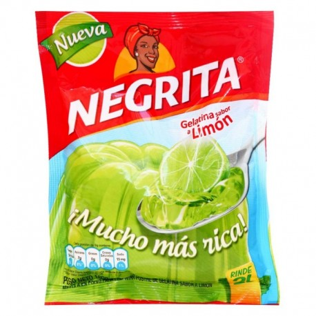 GELATINA DE LIMÓN NEGRITA 150 g