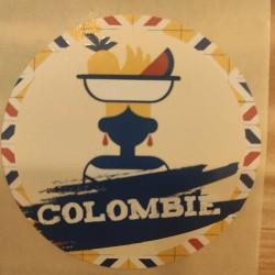 CAFÉ EN GRAIN COLOMBIE 250 g.