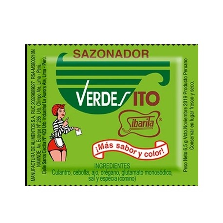 "SAZONADOR ""VERDESITO"""